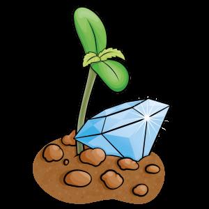 diamond illustrazione